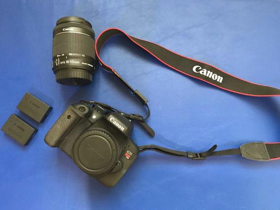Câmera T6i Cânon