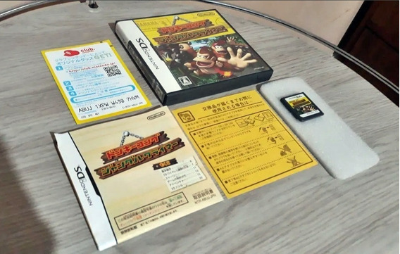 Donkey Kong Jungle Climber 2007 Completo Japan Nintendo Ds