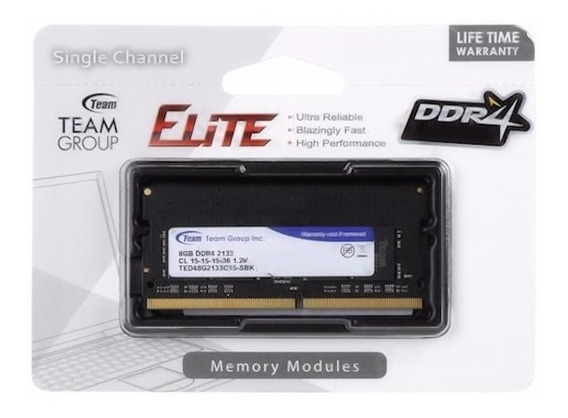 Memoria Ram Team Group Ddr4 4gb 2133mhz Sodimm Laptop New