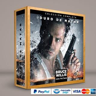Coleccion Duro De Matar Presentacion Dvd Colección Completa