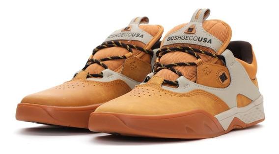 Calzado Para Caballero Dc Shoes Kalis S Se Color Mostaza
