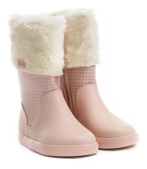Bota Barbie Infantil 21748 - Rosa