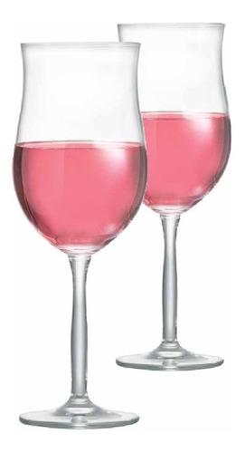 Imagem 1 de 3 de Kit Taça Vinho Ritzenhoff Bordeaux Rosé 430ml Jogo 2 Pcs