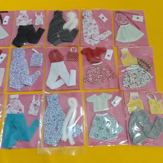 Roupas Rupinhas Para Boneca Barbie Kit Com 10 Peças