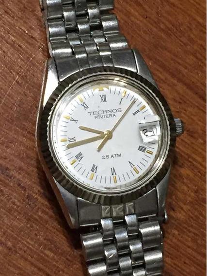 Relógio Technos Riviera 30/32mm Estilo Rolex