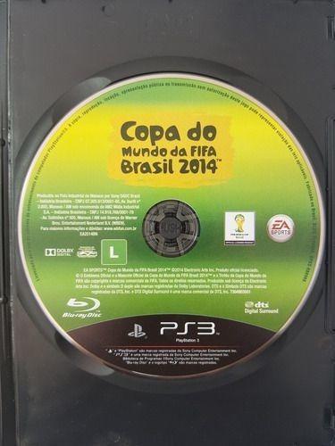 Copa Do Mundo Da Fifa Brasil 2014 Ps3 Mídia Física