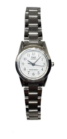 Reloj Para Dama Citizen Q&q Qyq Original Plata M_chi Moderno
