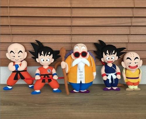 Muñecos De Fieltro: Dragon Ball
