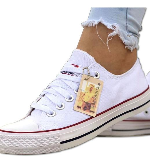 Zapatos Vans Converse Blancas All-star Moda Colombiana