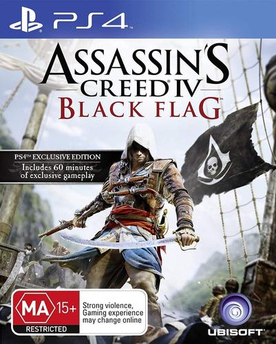 Assassins Creed 4 Black Flag - Ps4 - Digital - Manvicio