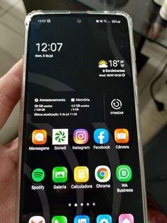 Samsung Galaxy Note 10 Lite, 1 Mes De Uso, Caixa E Nota