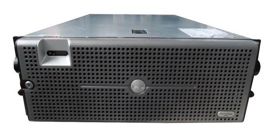 Servidor Dell 6950 4 Processador Xeon 16gb 2x 146gb