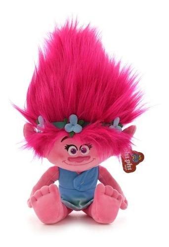 Imagen 1 de 4 de Poppy Trolls De Peluche Licencia Original 35 Cm.phi Phi Toys