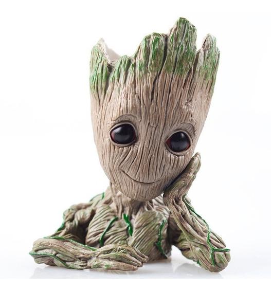 Baby Groot Vaso Ou Porta Objetos 14 Cm Porta Treco Marvel
