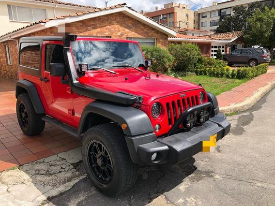 Jeep Wrangler Sport 3.6 Rojo