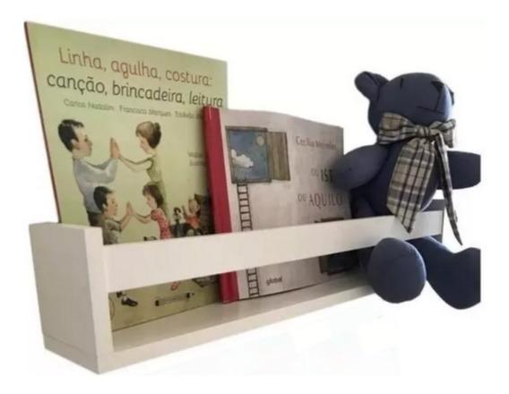 Prateleira Para Livros Infantil Porta Revista U 60 Cm Barato