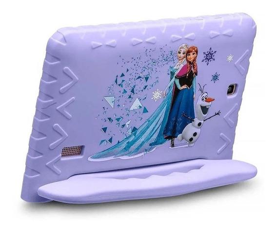 Tablet Para Menina Disney Frozen Capa Emborrachada Original