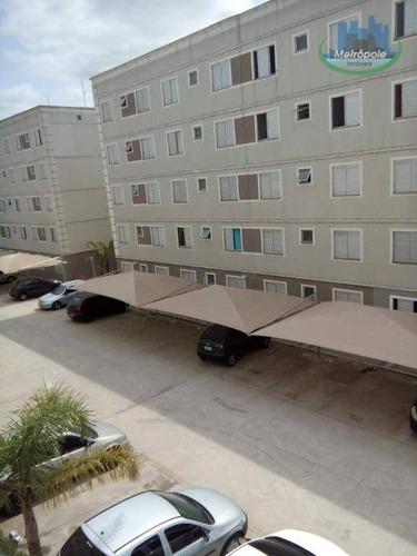Apartamento Com 2 Dormitórios À Venda, 44 M² Por R$ 220.000 - Água Chata - Guarulhos/sp - Ap1139