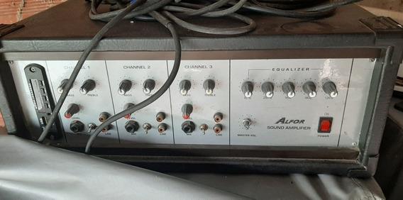 Amplificador Columna Y Microfono 500