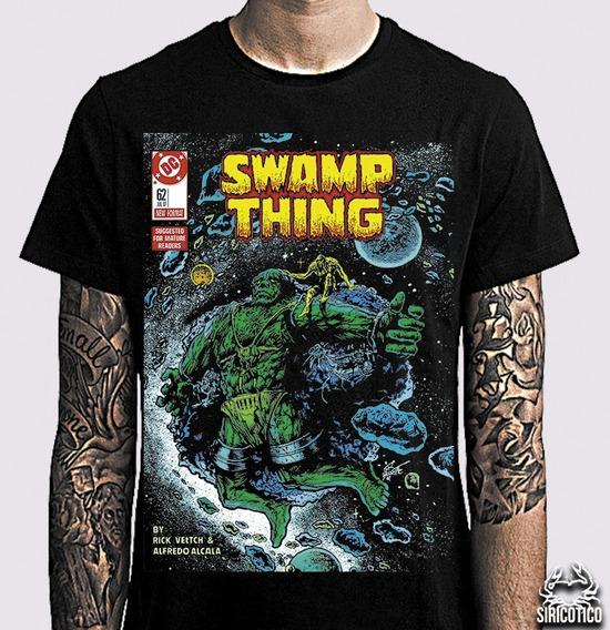 Camiseta Swamp Thing, Monstro Do Pântano, Vertigo