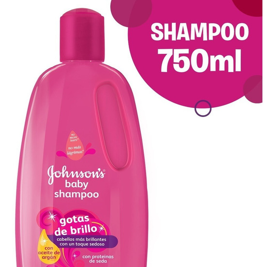 Shampoo Johnson´s Baby Gotas De Brillo 750ml
