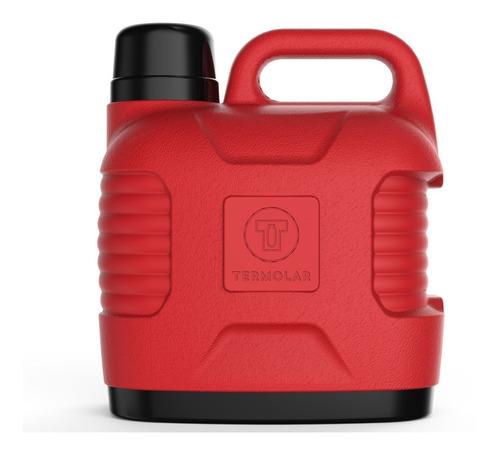 Garrafão Térmico Supertermo 5 Litros Vermelho - Termolar
