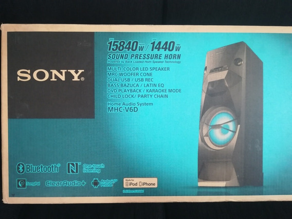 Corneta Sony Mhc-v6d Y Sony-v4d