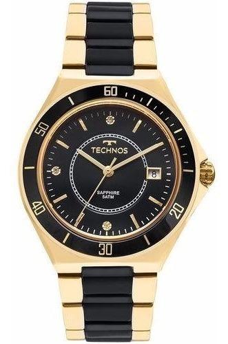 Relógio Technos Feminino Cerâmica Clássico 2115mmn/4p