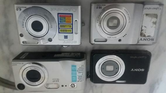 Máquinas Fotograficas Digitais Hp/sony * P/ Retirar Peças *