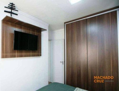 Apartamento Com 2 Dormitórios À Venda, 51 M² Por R$ 290.000,00 - Vila Santa Rita De Cássia - São Bernardo Do Campo/sp - Ap0030