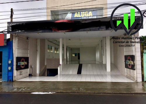 Imagem 1 de 15 de Loja Para Alugar, 955 M² - Santos/sp - 26