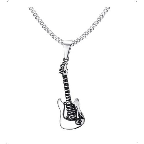 Collar Guitarra Hombre Moda 2019