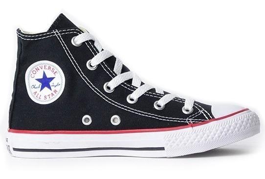 Tênis All Star Infantil Cano Alto Preto - Converse -original