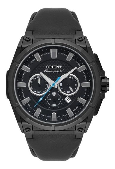 Relógio Orient Cronógrafo Couro Masculino Mpscc008 P1px