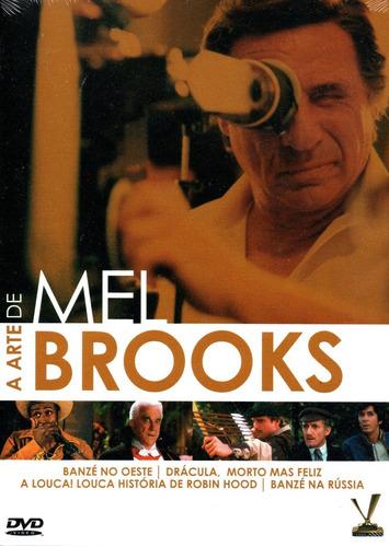 Imagem 1 de 2 de Dvd A Arte De Mel Brooks Com Cards - Versatil Bonellihq S20