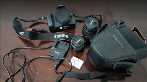 Canon T3i / 600d / Kiss X5 Kit Com Lente 18-55mm E 50mm
