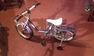 Bicicleta Unisex Para Niños Marca Musetta Rodado 16