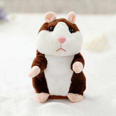 Hamster Falante Mogno Envio Imediato!! 15cm