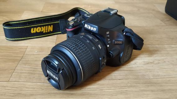 Câmera Nikon D5100 + Lente 18-55mm + Acessórios