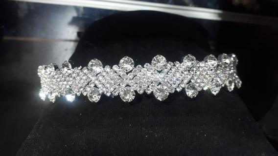 Tiara/ Coroa Noiva Debutantes Casamento Swarovski