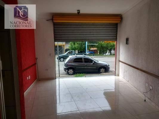 Salão Comercial Para Locação, Jardim Rina, Santo André - Sl0531. - Sl0531