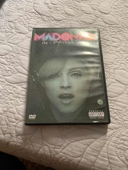 Dvd Madonna - The Confessions Tour