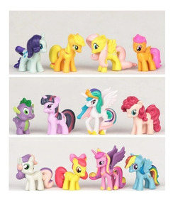 My Little Pony Kit Com 12 Peças Poney Pronta Entrega