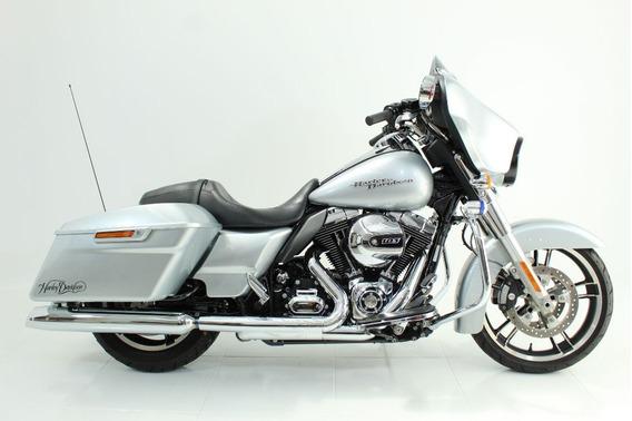Harley-davidson Street Glide 2014 Prata