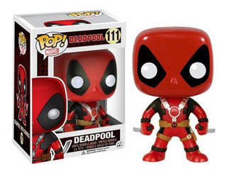 Funko Pop! Marvel Deadpool Two Swords Nuevo
