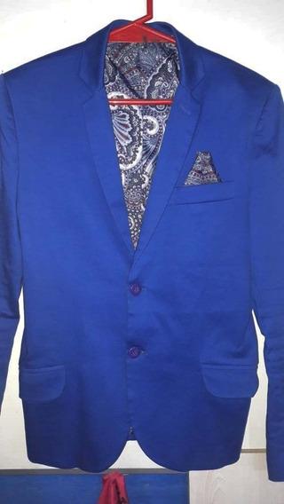 Saco Azul Francia Tribu De Jah Xs Original