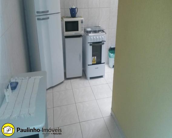 Apartamento Tipo Kit Net Na Praia De Peruíbe Locação Temporada - Ap00695 - 34315493