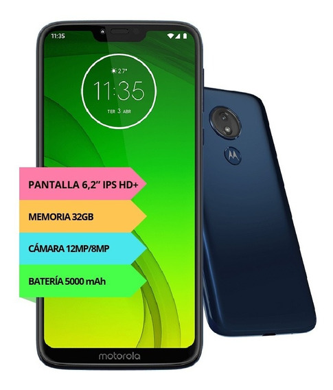 Celular Motorola Moto G7 Power 5000ma Liberadofull