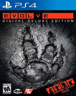 Evolve Deluxe Edition - Ps4 Digital