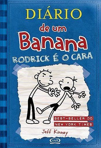 Diário De Um Banana 2 Rodrick É O Cara - Capa Brochura